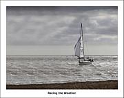 Racing The Weather Print by Nigel Jones