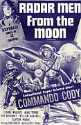 1952 Movies Framed Prints - Radar Men From The Moon, George Wallace Framed Print by Everett
