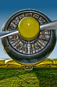Aircraft Engine Posters - Radial engine Poster by Alessandro Matarazzo