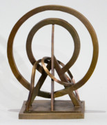 Bronze Sculptures - Radiating Ethics by John Gibbs