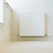 Against A Wall Framed Prints - Radiator In Modern Home Framed Print by Iain Sarjeant