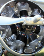 Airplane Radial Engine Photos - Radical Radial by Bill Lang