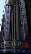 Outdoor Theater Framed Prints - Radio City Music Hall Cirque du Soleil Framed Print by Lee Dos Santos