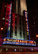 Outdoor Theater Metal Prints - Radio City Music Hall Cirque du Soleil Zarkana Metal Print by Lee Dos Santos