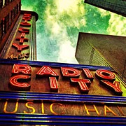 Clouds Art - Radio City Music Hall by Luke Kingma