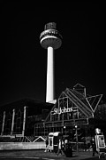 Liverpool Prints - Radio City Tower And St Johns Shopping Centre In Liverpool City Centre Shopping District  Print by Joe Fox