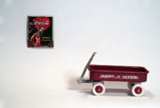 Radio Originals - Radio Flyer and Coke Sign by Jack Paolini