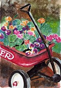 Wagon Originals - Radio Flyer Garden by Sheryl Heatherly Hawkins