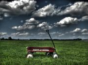 Wheel Photo Originals - Radio Flyer by Jane Linders