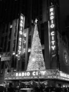 Music Photos - Radio Glow Black and White by Meghan Flatley