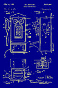 Radio Digital Art - Radio Phone Patent by Bill Cannon