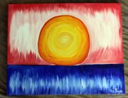 Sun Pastels Originals - Radio Sun by Ava Thayer