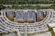 Commercial Real Estate Aerial Photographs - Radnor Financial Center 150 North Radnor Chester Road Radnor PA 19087 by Duncan Pearson