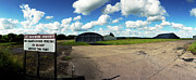 Military Base Photo Originals - RAF Dunkeswell by Jan Faul