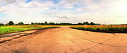 Military Base Photo Originals - RAF Eye Taxiway by Jan Faul