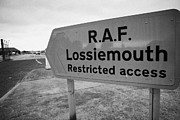 Raf Prints - RAF Lossiemouth air force base Print by Joe Fox