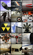 Collage Prints - RAF Museum at Cosford Print by Roberto Alamino