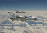 Aircraft Prints - RAF Tornado Print by Pat Speirs