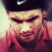 Sports Art - Rafa Nadal by Manuel M Almeida