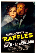 Thd Framed Prints - Raffles, Olivia De Havilland, David Framed Print by Everett