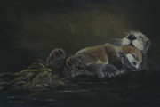 Patricia Mansell - Raft of Life-Sea Otters