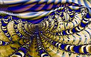 Ropes Digital Art Prints - Rag Ropes Print by Ron Bissett