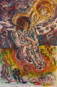 Rage Paintings - Rage Against Abortion by Shadrach Ensor