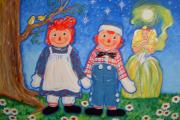 Theresa McFarlane Stites - Raggedy Ann and Andy