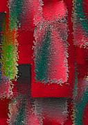 Raggedy Red Print by John Krakora
