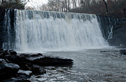 White River Scene Photo Originals - Raging Waterfall by Michael Waters