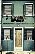 Shutters Photos - rags in Venice by Joana Kruse
