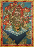 Thangka Paintings - Rahula by Sergey Noskov