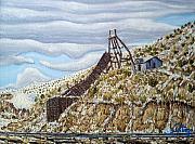 Rail Chute Print by Santiago Chavez