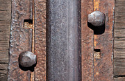 Rust Lines Framed Prints - Rail Detail Framed Print by Dan Holm
