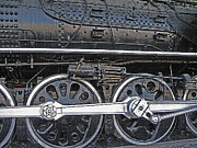 Mechanics Digital Art Metal Prints - Railroad Museum 2 Metal Print by Steve Ohlsen