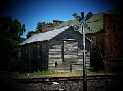Abandoned Buildings Prints - Railroad Shack Print by Joyce  Kimble Smith