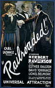 Esther Framed Prints - Railroaded, Esther Ralston, 1923 Framed Print by Everett