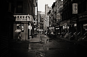 Rain - Pell Street - New York City Print by Vivienne Gucwa