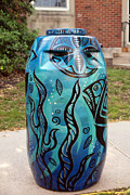 Rain Barrel Metal Prints - Rain Barrel 3 Metal Print by Luis Lugo