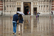 Most Art - Rain in London by Donald Davis