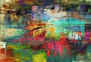 Philosophical Mixed Media - Rain by Jan Steadman-Jackson