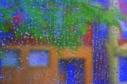 Wants Framed Prints - Rain Rain Go Away Framed Print by Julie Lueders