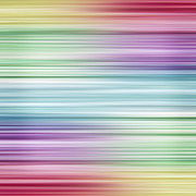Color Line Prints - Rainbow   Print by Blink Images