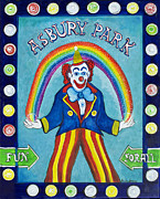 Asbury Paintings - Rainbow Billy by Patricia Arroyo