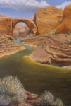 Arch Paintings - Rainbow Bridge by Jerry McElroy