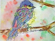 Mary Jo Beranek - Rainbow Chickadee