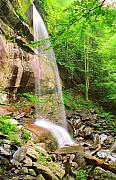 Gsmnp Prints - Rainbow Falls Print by Alan Lenk