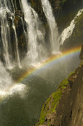 Beautiful Place Posters - Rainbow falls Poster by Alistair Lyne