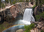 Nevada Falls Photos - Rainbow Falls by David Salter