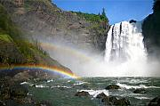 River Mist Photos - Rainbow Falls by Winston Rockwell